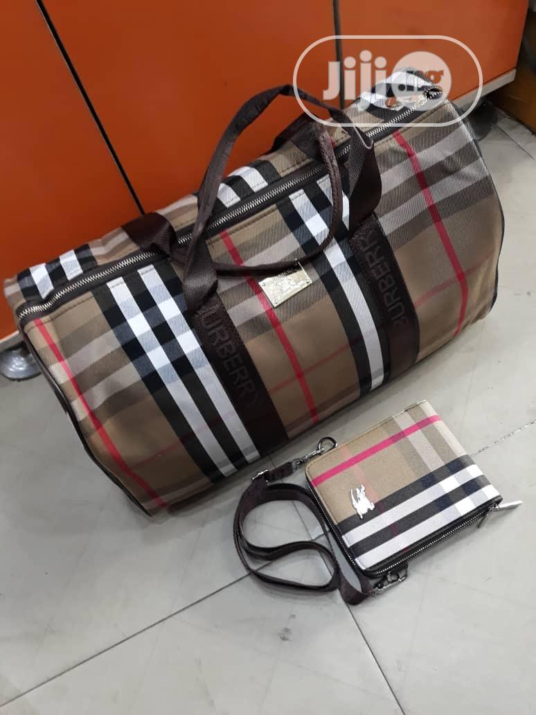Traveling Bag And Side Bag