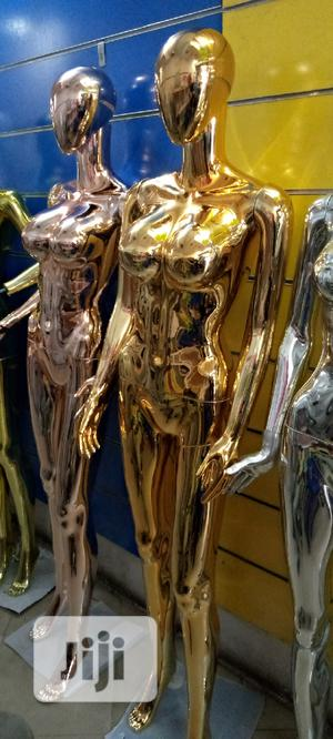 Busty Female Chrome Mannequins   Store Equipment for sale in Lagos State, Lagos Island (Eko)