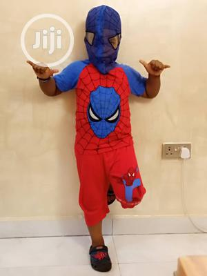 Spiderman Net Face 2 Piece Set | Children's Clothing for sale in Lagos State, Amuwo-Odofin