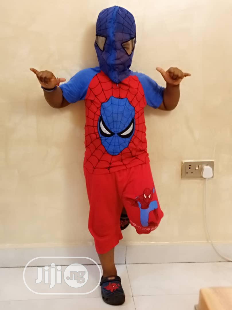 Spiderman Net Face 2 Piece Set