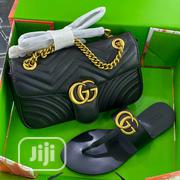 Gucci Bag and Slippers   Shoes for sale in Lagos State, Ojodu