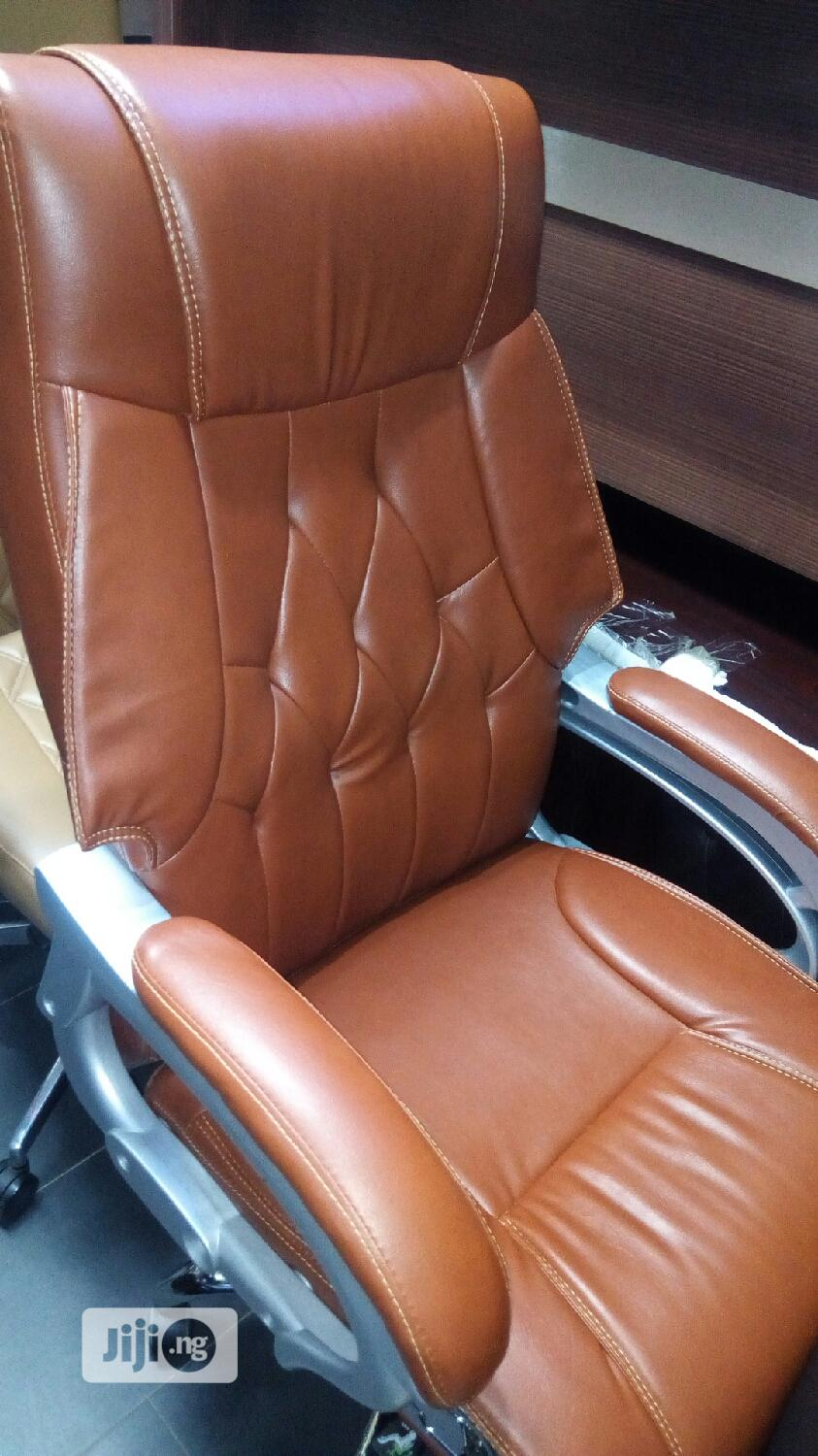 Brand New Imported Super Quality Leather Executive Office Chair.