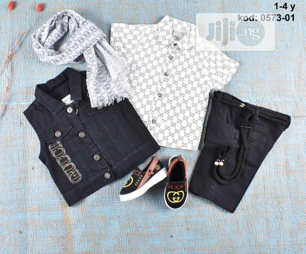 4sets Gucci Wears for Boys
