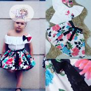 Girls Flower Skirt and Top | Children's Clothing for sale in Lagos State, Lekki Phase 1