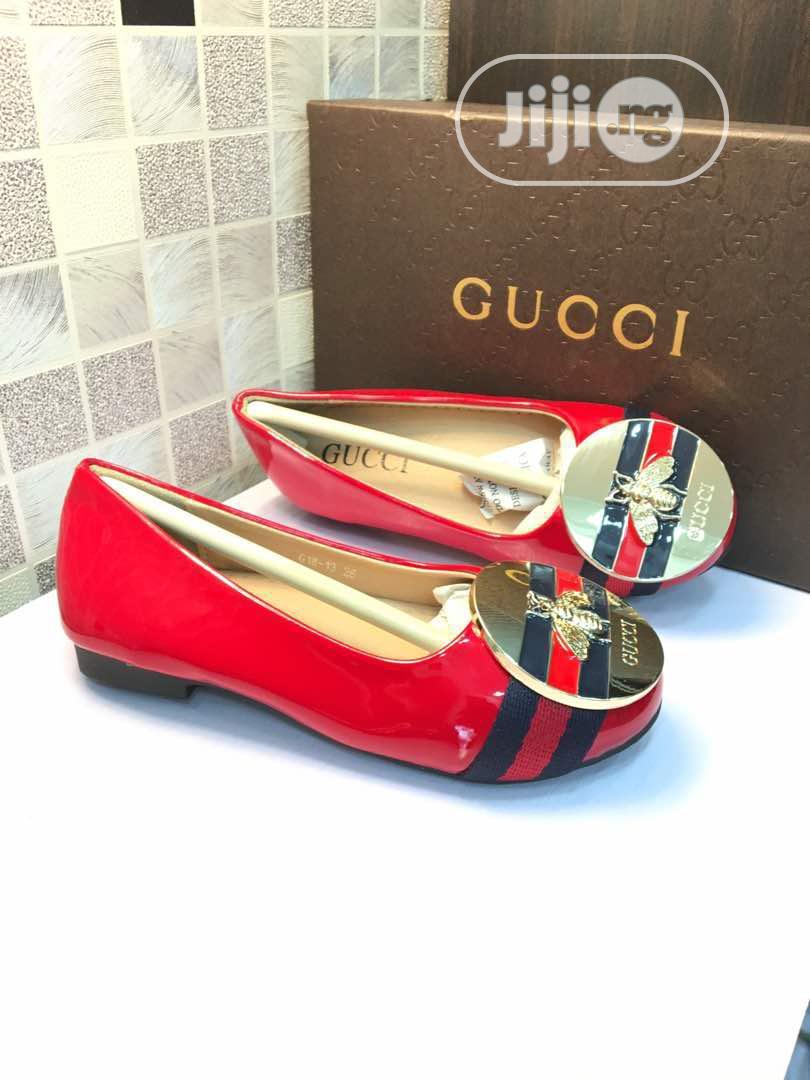 Gucci Girls Flat Shoes