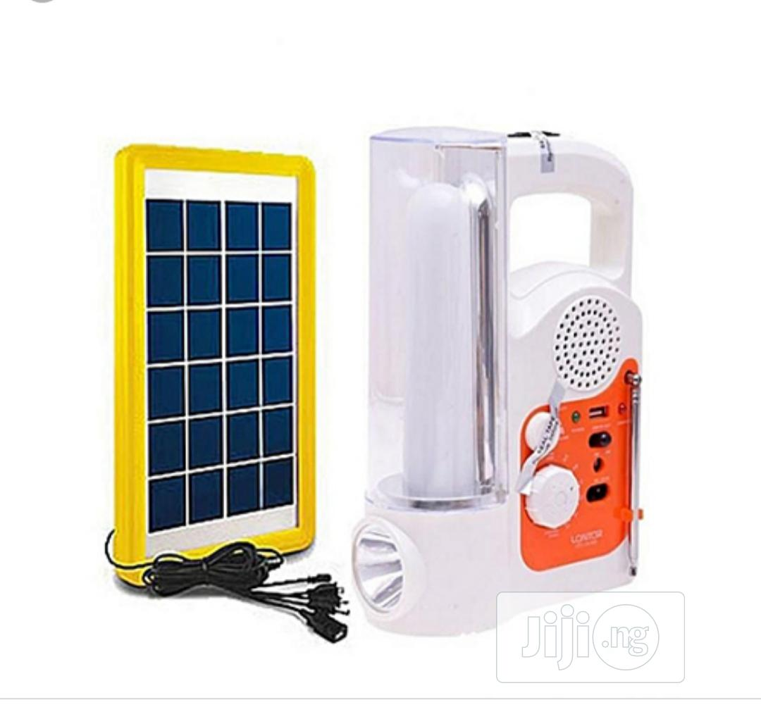 Lontor Solar Light Kits With Phone Charger Cables