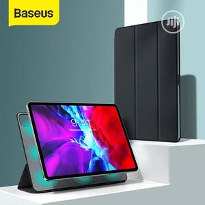 Simplism Tri-fold Stand Leather Case For iPad Pro) Magnet | Accessories for Mobile Phones & Tablets for sale in Lagos State, Ikeja