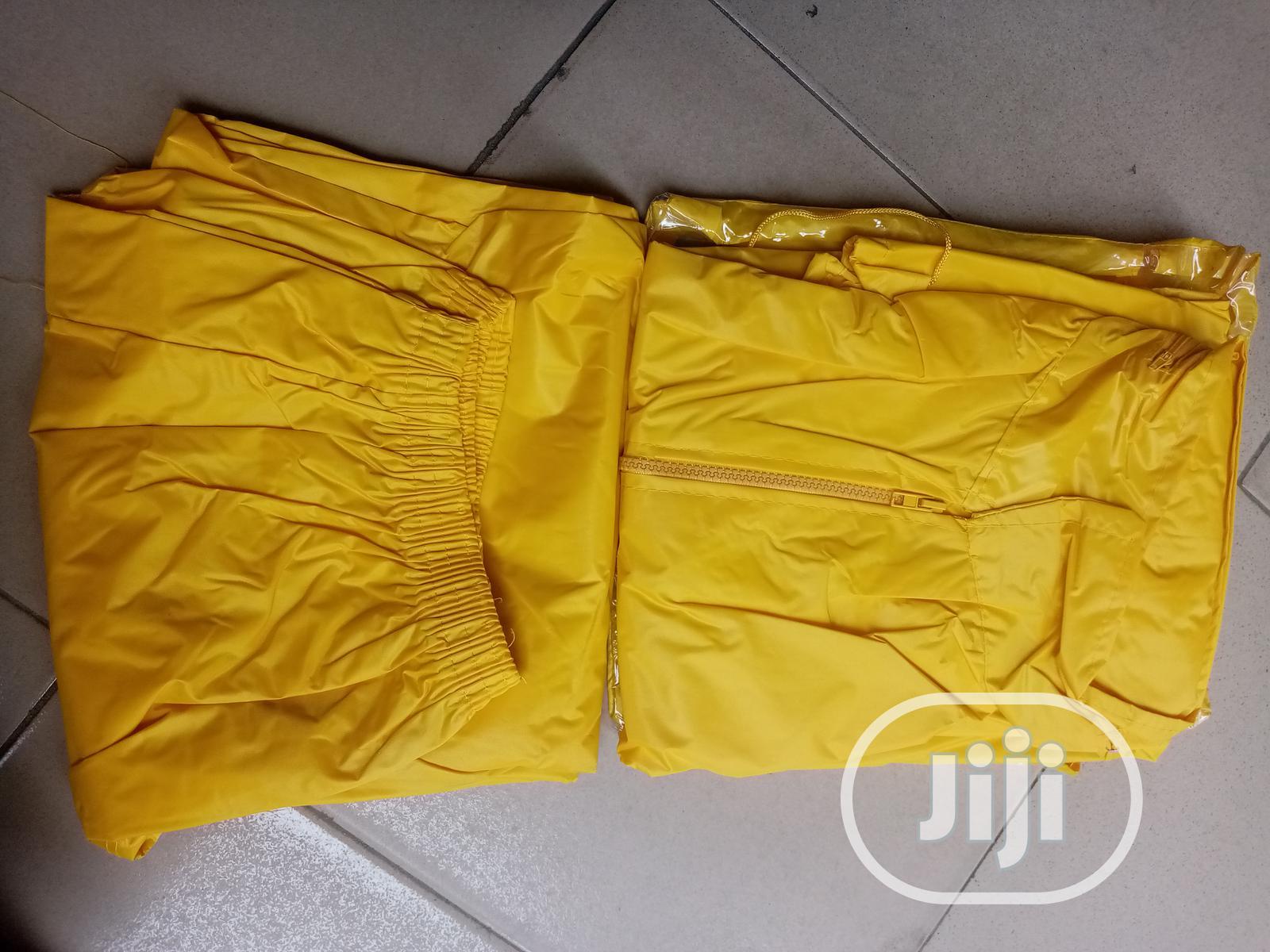 Archive: Rain Coat Suit