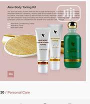 Aloe Body Toning Kit.To Help Trim,Tone,Tighten Minimize the Cellulite | Skin Care for sale in Lagos State, Ikeja