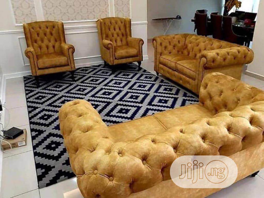 2+2+1+1 Chesterfield Sofa Set