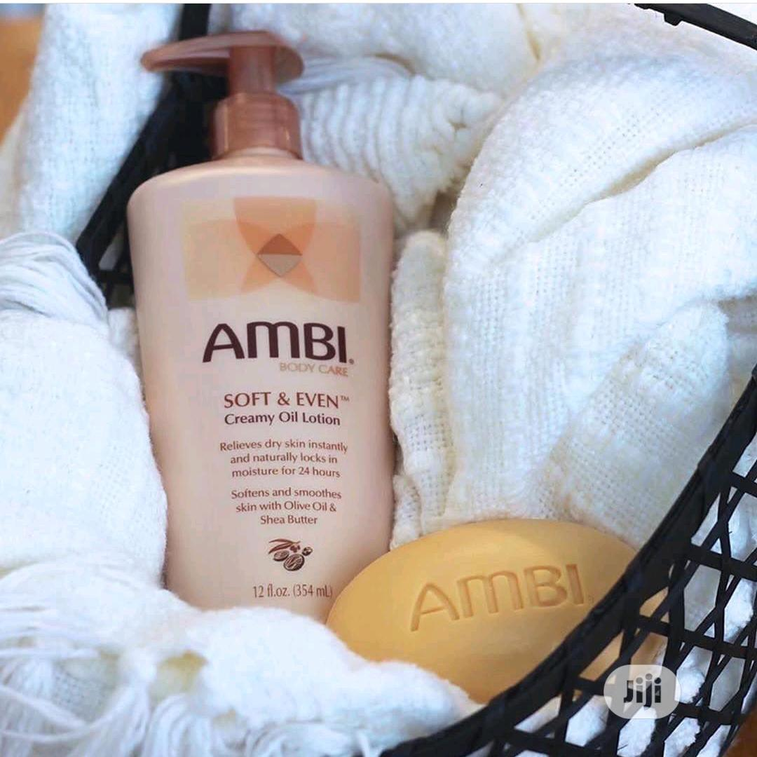 Ambi Lotion and Complexion Soap