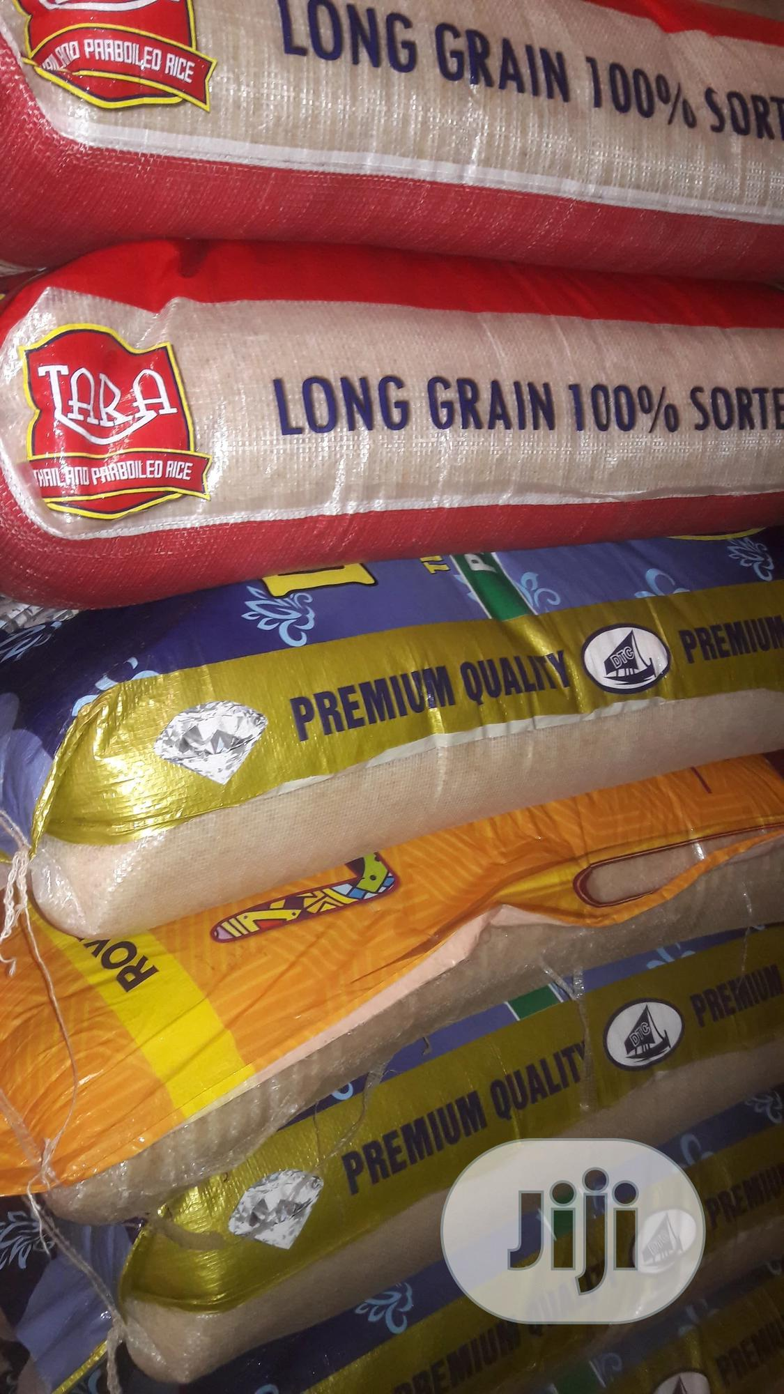Foreign Rice In 50kg & 25kg