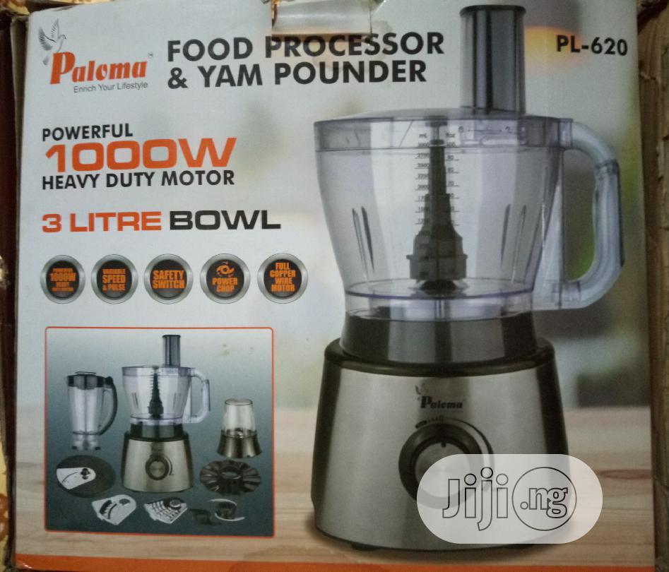 Paloma Food Processor Yam Pounder Big Size | Kitchen Appliances for sale in Lagos Island, Lagos State, Nigeria