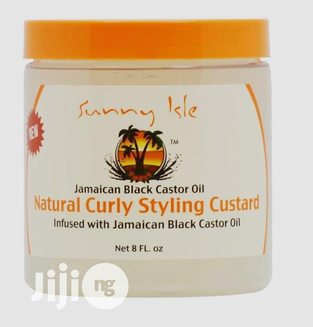 Sunny Isle Natural Curly Styling Custard