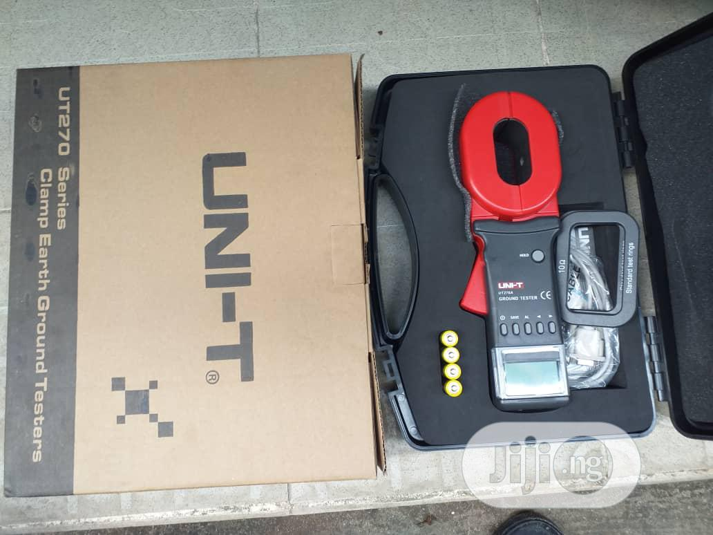 UNI-T Digital Earth Resistance Clamp Tester | Measuring & Layout Tools for sale in Ojo, Lagos State, Nigeria