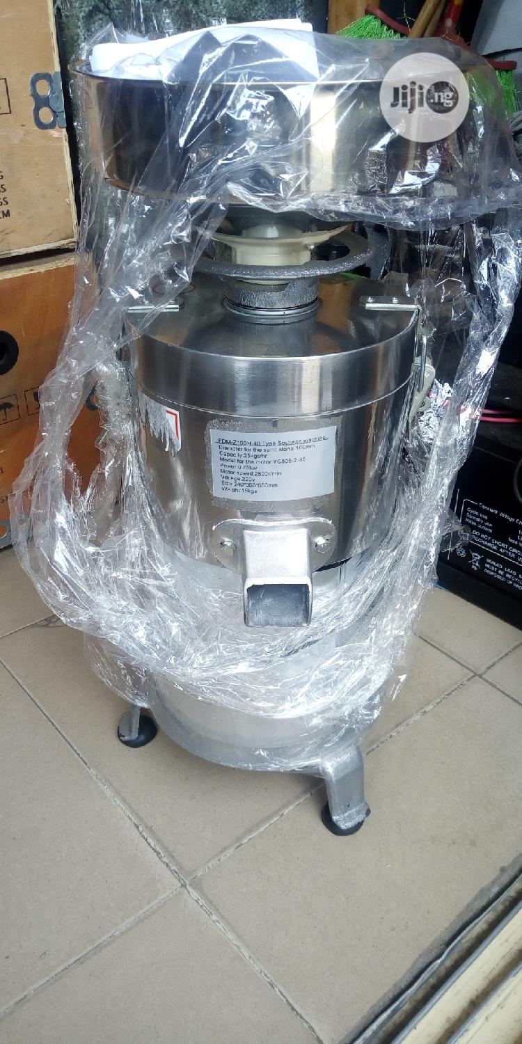 Durable Stainless Tigarnut Machine