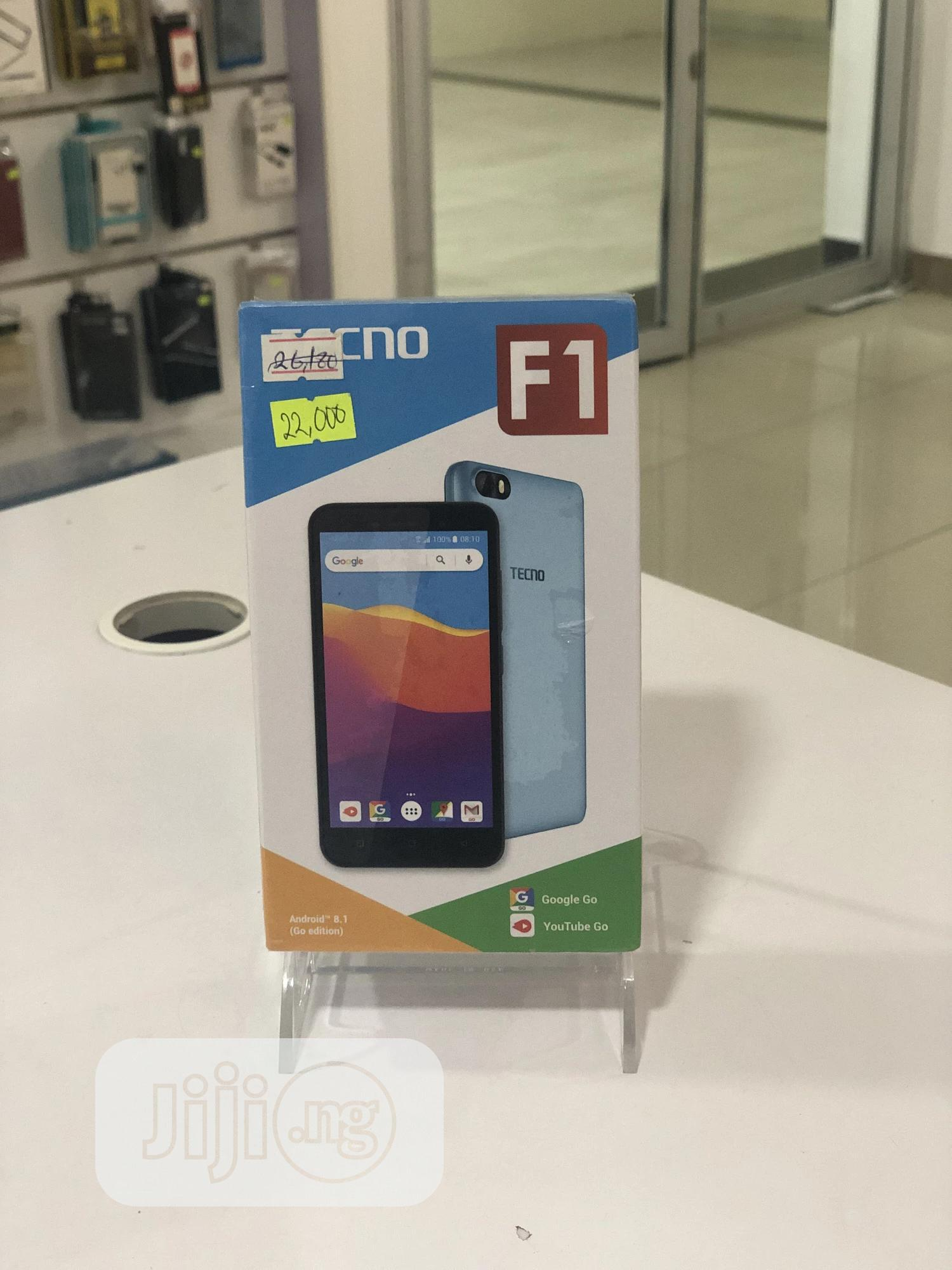 New Tecno F1 8 GB Blue