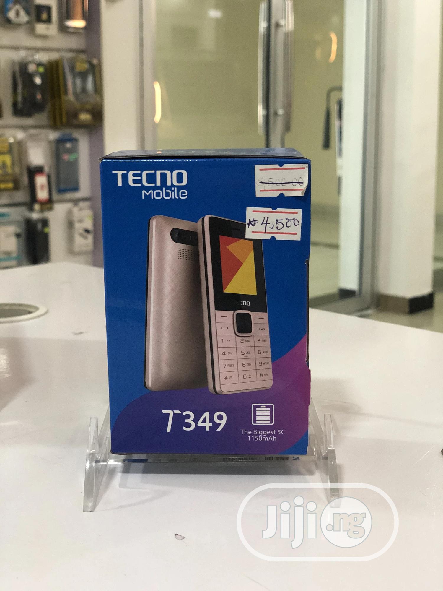 New Tecno T349 Gold