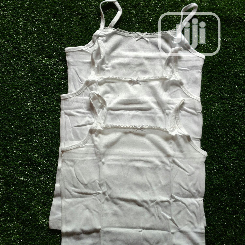 Archive: George UK Thin Strap Inner Vest for Big Girls