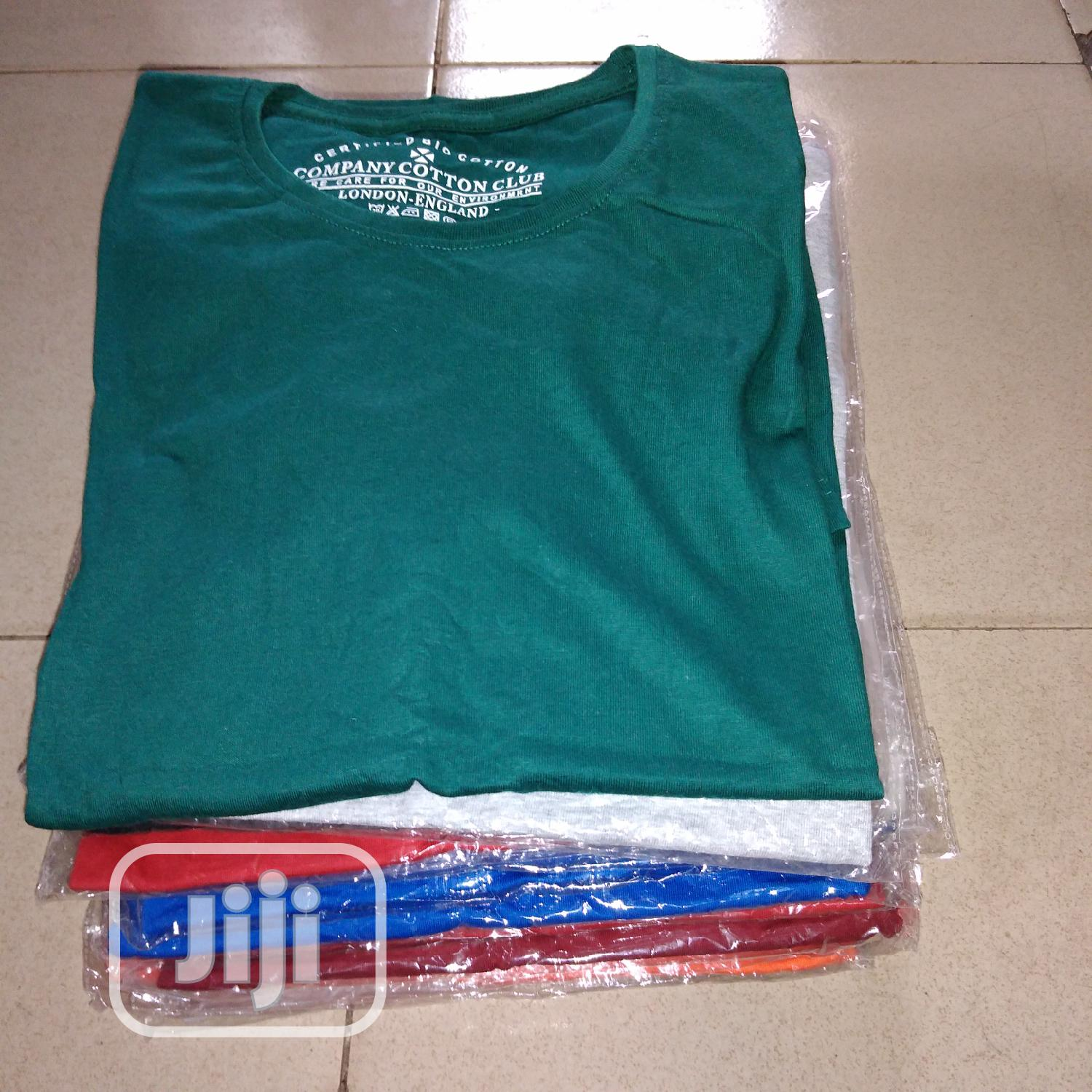 Cotton Club Roundneck T-shirt | Clothing for sale in Ikeja, Lagos State, Nigeria