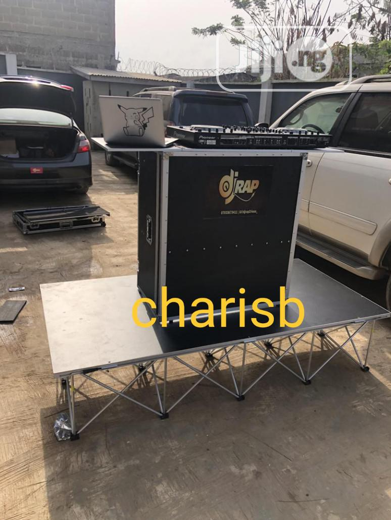 Archive: DJ Skeleton Stand And DJ Table