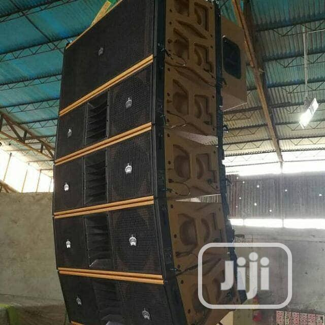 Standard Quality And Durable High Class Line Array Speakers