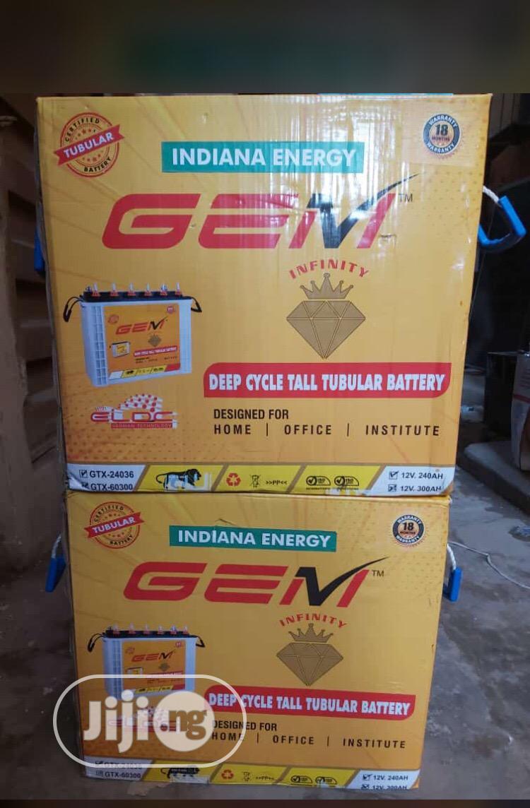 12v 200ah Indian GEM Battery With 18 Months Warranty