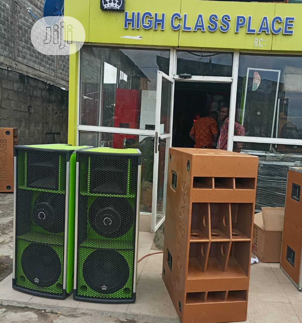 Super Quality and Durable High Class Cobra Double Sub | Audio & Music Equipment for sale in Ojo, Lagos State, Nigeria