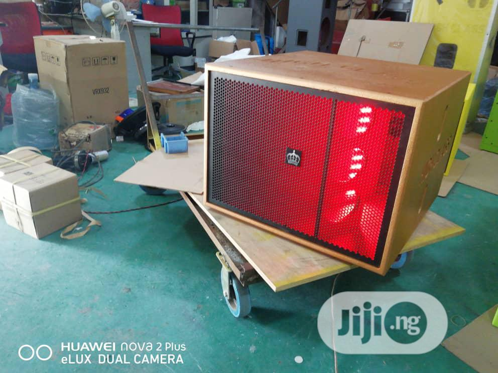 High Class Single Sub With Censor Lights 4000watts | Audio & Music Equipment for sale in Ojo, Lagos State, Nigeria