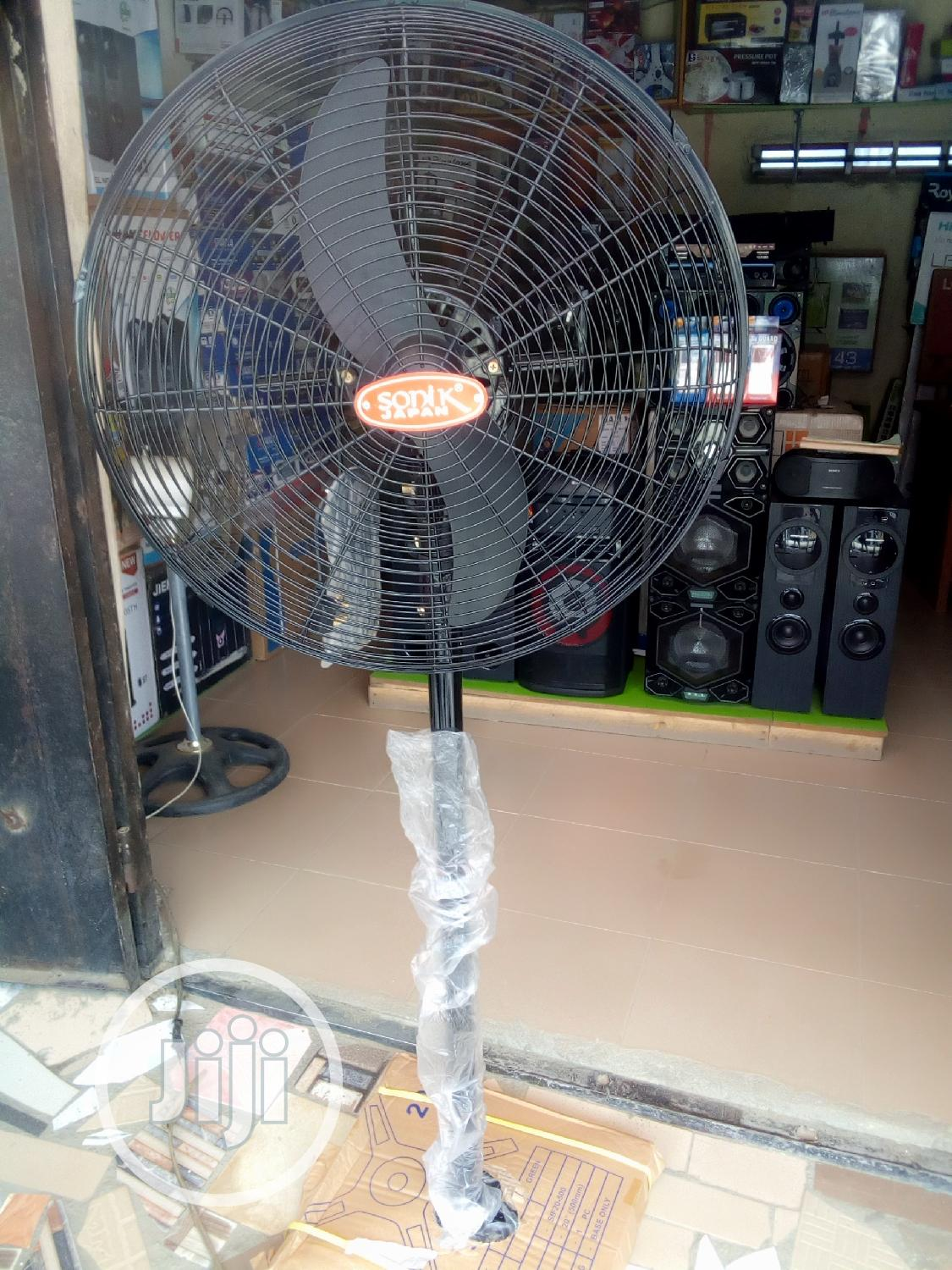 Sonik Japan Industrial Standing Fan | Manufacturing Equipment for sale in Port-Harcourt, Rivers State, Nigeria