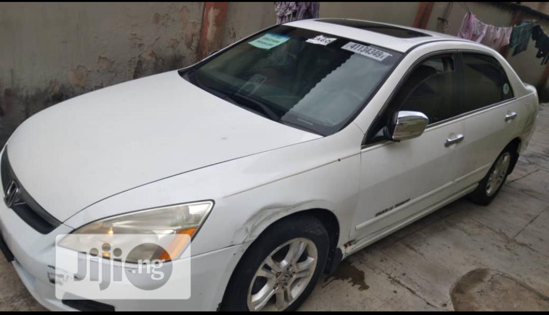 Honda Accord 2.4 2007 White | Cars for sale in Ojodu, Lagos State, Nigeria
