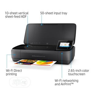 HP Officejet 250 All-in-one Portable Printer With Wireless & Mobile Pr   Printers & Scanners for sale in Lagos State, Ikeja