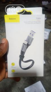 Baseus Simple HW Quick Charge Cable Type C | Accessories for Mobile Phones & Tablets for sale in Lagos State, Ikeja