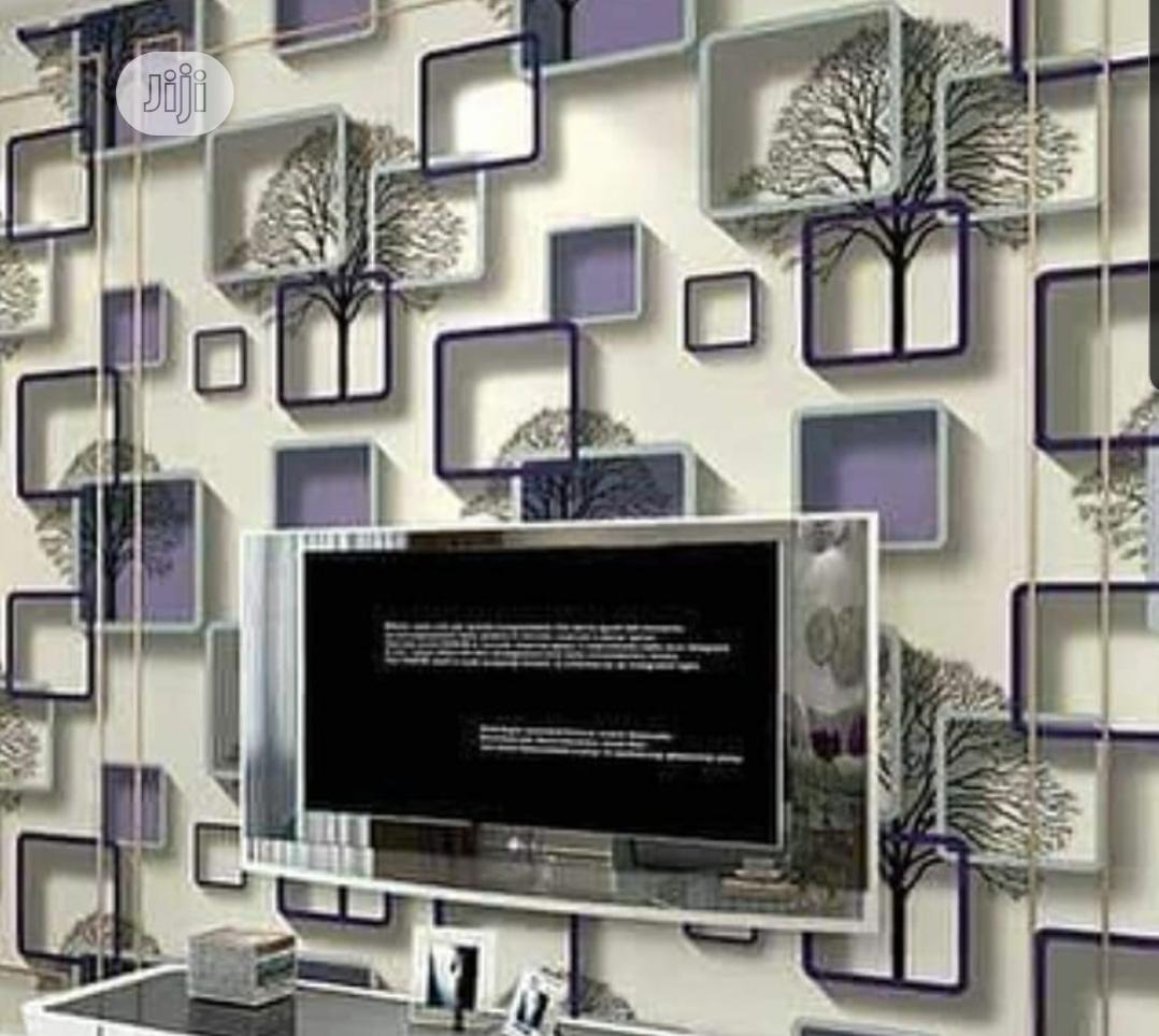 3D Wallpaper (Purple)