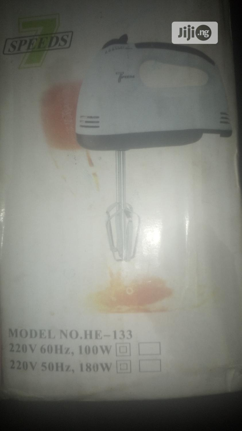 Electric Super Hand Mixer | Kitchen & Dining for sale in Lagos Island, Lagos State, Nigeria