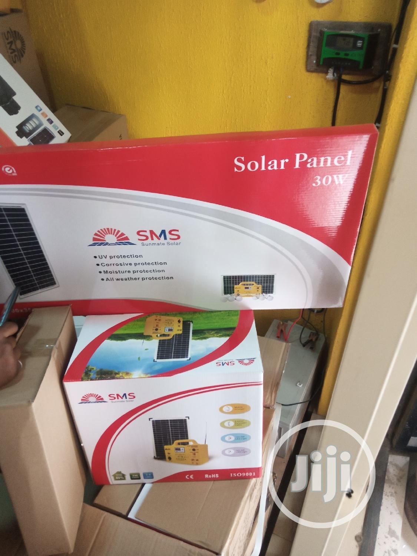 30watts(Sms)Solar Generator   Solar Energy for sale in Ojo, Lagos State, Nigeria