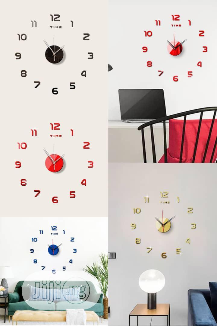 Wall Clock Design Stickers