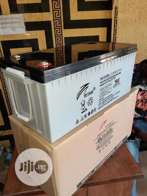 12v 200ah Rita Battery Available   Solar Energy for sale in Lagos State, Ojo