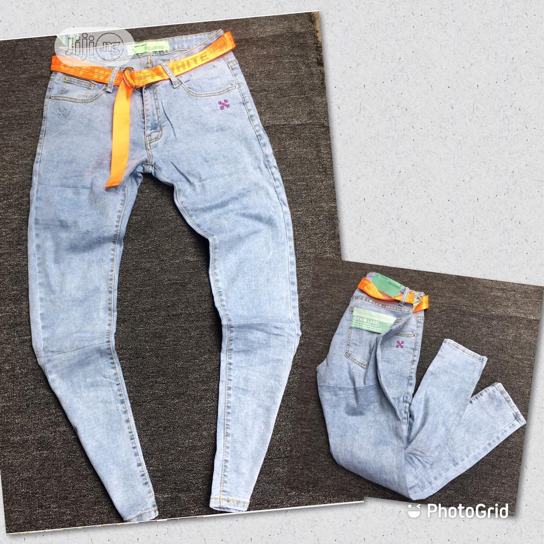 Original Off White Jean | Clothing for sale in Lagos Island, Lagos State, Nigeria