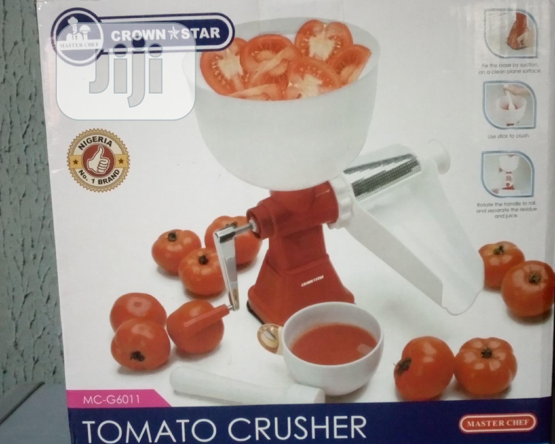 Manual Tomato Crusher