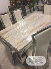 Marble Dinning by 6 | Furniture for sale in Lagos State, Ojo