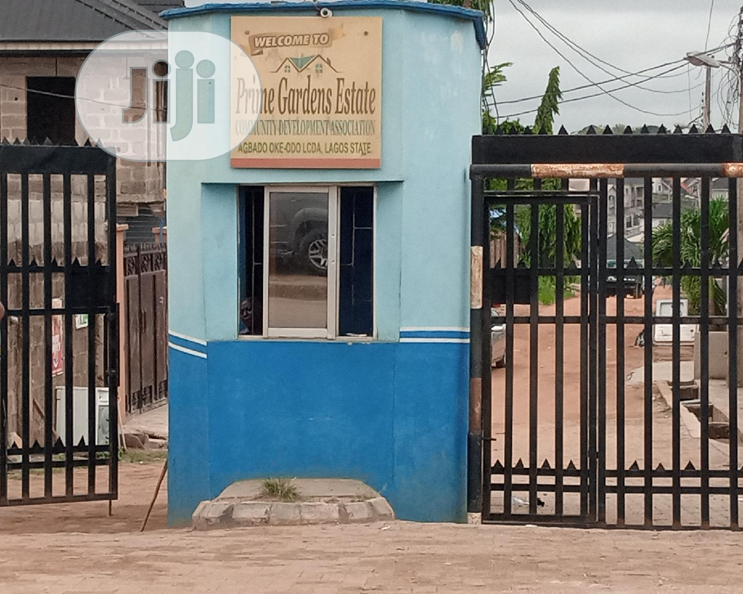 Half Plot of Land in a Secured Lovable Estate at Abule Egba