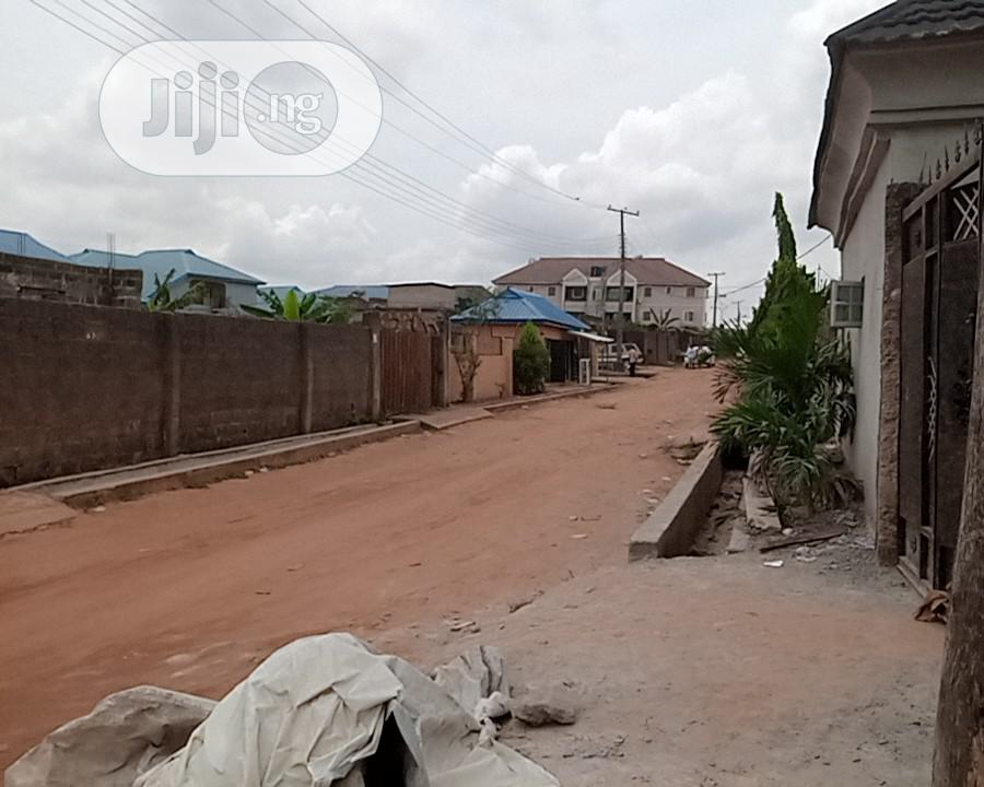 Half Plot of Land in a Secured Lovable Estate at Abule Egba | Land & Plots For Sale for sale in Alimosho, Lagos State, Nigeria
