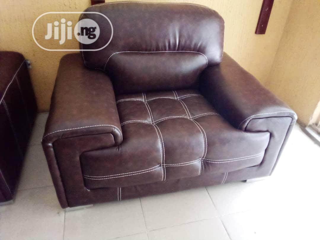 7seaters Living Room Leather Chair