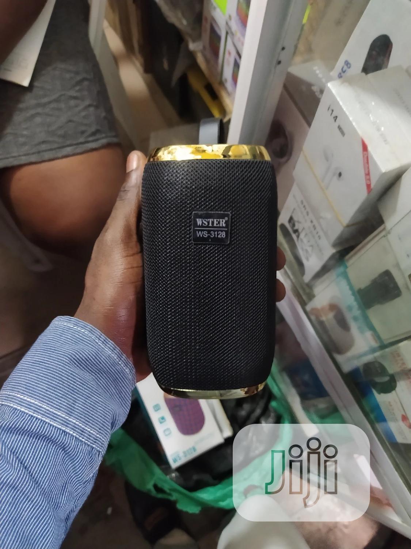 Wster 3128 Bluetooth Speaker | Audio & Music Equipment for sale in Ikeja, Lagos State, Nigeria