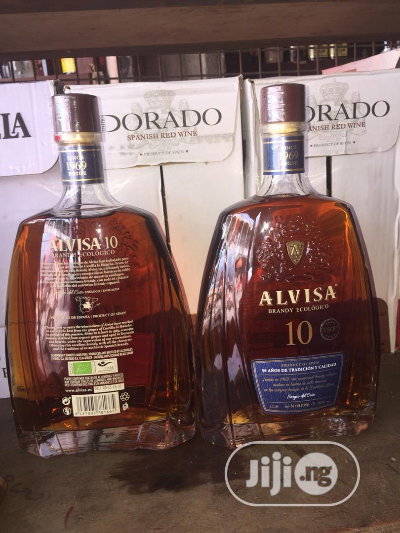 Brandy Alvisa Drinks