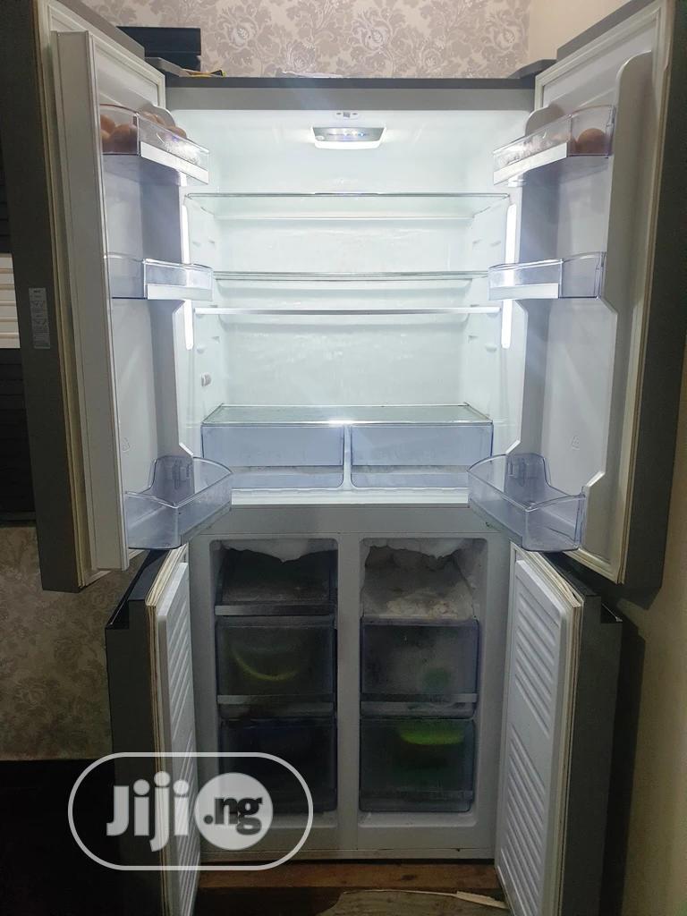 Archive: 4-door Refrigerator In Very Good Condition. (Zero Previous Repairs)