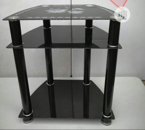 Good Quality And Portable Glass TV Stand   Furniture for sale in Lagos State, Ojo