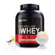 Optimum Nutrition Gold Standard 100% Whey Protein Powder, 5lbs | Vitamins & Supplements for sale in Lagos State, Lekki Phase 1