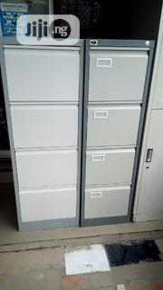 Brand New Imported 4drawers Metal Filing Cabinet With Key's Lock. | Furniture for sale in Lagos State, Ikoyi